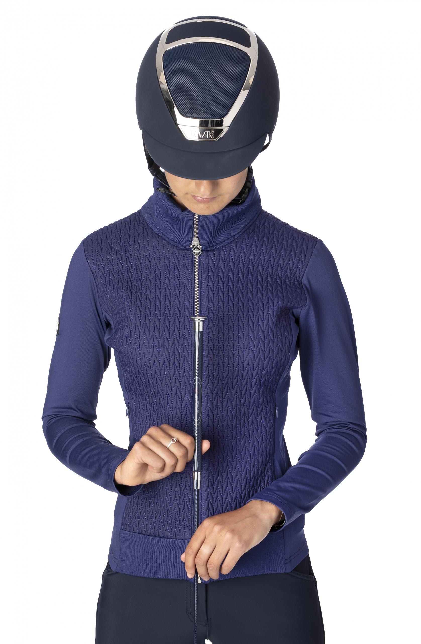 wintercollectie lemieux loire jacket ink blue