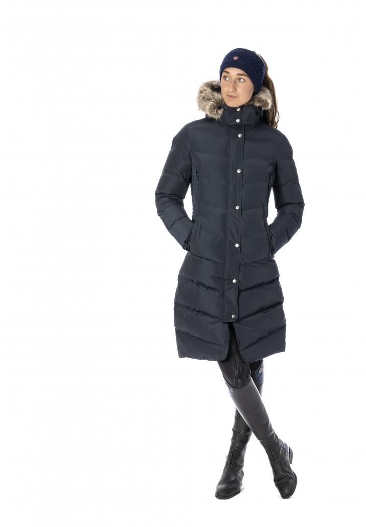 wintercollectie lemieux long riding coat