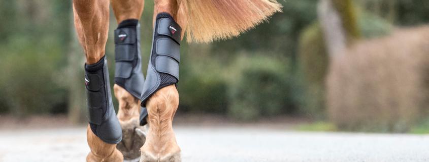mesh brushing boot beenbescherming dressuur